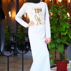 En Yeni Patırtı Giyim Genç Tesettür Elbise Modelleri 2018