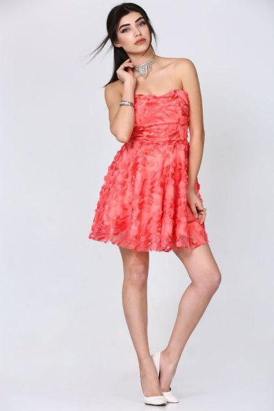 Patırtı Straplez Elbise Modelleri 2018