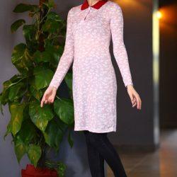 Sokak Modası Patırtı Giyim Polo Yaka Tesettür Elbise Modelleri