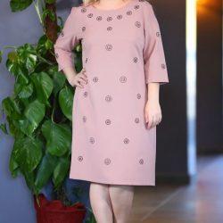 Taş İşlemeli Patırtı Büyük Beden Elbise Modelleri 2018