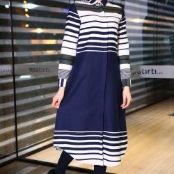 Yeni Sezon Patırtı Giyim Desenli Elbise Modelleri 2018
