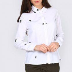 2018 En Yeni İşlemeli Bayan Gömlek Modelleri