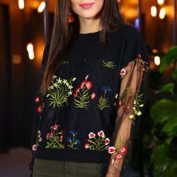 En Güzel İşlemeli Patırtı Bluz Modelleri 2018