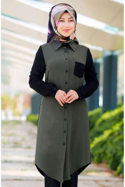 En Güzel Patırtı Tesettür Tunik Modelleri 2018