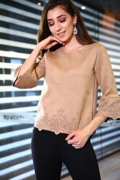 Lazer Kesim En Güzel Bluz Modelleri 2018
