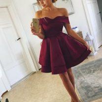 Zarif Mini Elbise Modelleri 2018