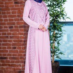 Yeni Sezon Tesettür Elbise Modelleri 2019
