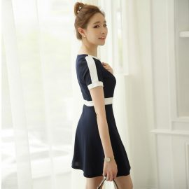 20 Yaş Kore Stili Elbise Modelleri 2019