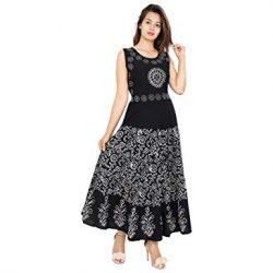 2019 Etnik Desenli Uzun Elbise Modelleri
