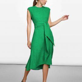 En Tarz Midi Boy Elbise Modelleri 2019