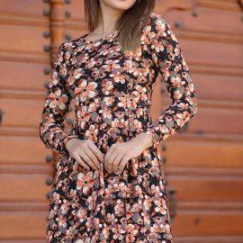 Çiçekli Patırtı Elbise Modelleri 2020