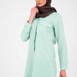 En Güzel Patırtı Tesettür Tunik Gömlek 2020