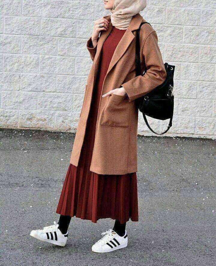 En Güzel Sokak Modası Tesettür Giyim