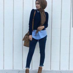 En Tarz Kapalı Giyim Sokak Modası Trendleri