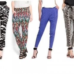 Şık Desenli Pantolon Modelleri