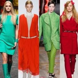 2014 Sonbahar Kış Moda Renkler