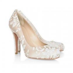 Dantelli İnce Topuklu Ayakkabı Modelleri