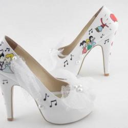 Desenli Yeni Sezon Gelin Ayakkabısı Modelleri