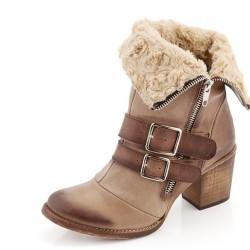 Gösterişli 2015 Kış Ayakkabı Modası