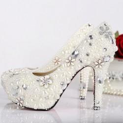 Gsterişli Yeni Sezon Gelin Ayakkabısı Modelleri