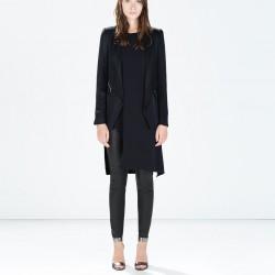 Lacivert Zara Ceket Modelleri