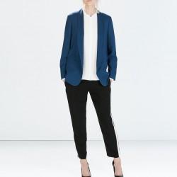Mavi Zara Ceket Modelleri