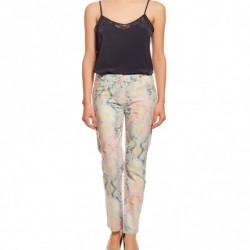 Renkli Sonbahar Koton Pantolon Modelleri