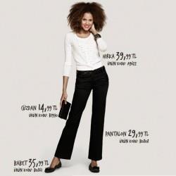 Sade Yeni Defacto Pantolon Modelleri