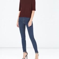 Yüksek Bel Yeni Zara Jeans Modelleri