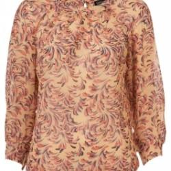 Şık Çiçek Desenli Bluz Modelleri