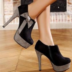 Şık Süet Bayan Ayakkabısı Modelleri
