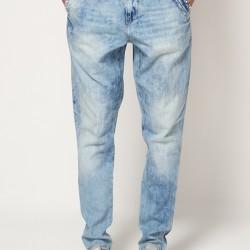 Bol Kesim Buz Rengi Pantolon Modelleri