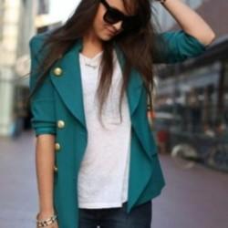 Düğmeli Renkli Blazer Ceket Modelleri