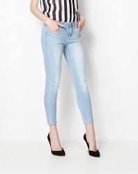 Dar Paça Şık Buz Rengi Pantolon Modelleri
