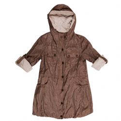 Kahverengi 2014 Bayan Yağmurluk Modelleri