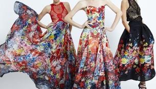 Rengarenk Elbiseler Zuhair Murad 2015 İlkbahar Koleksiyonu