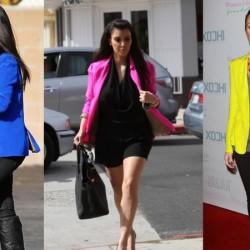 Rengarenk Renkli Blazer Ceket Modelleri