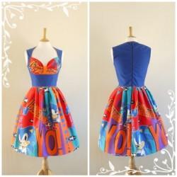 Rengarenk Vintage Elbise Modelleri
