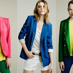 Renkli Blazer Ceket Modelleri
