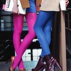 Renkli Kışlık Çorap Modelleri