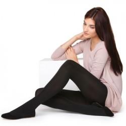 Siyah Kışlık Çorap Modelleri