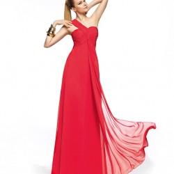 Tül Detaylı Kırmızı Balo Elbisesi Modelleri