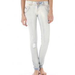 Taşlanmış Buz Rengi Pantolon Modelleri