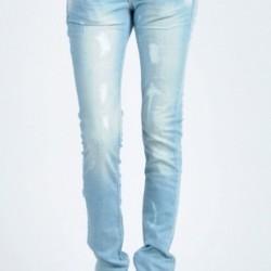 Yırtık Buz Rengi Pantolon Modelleri