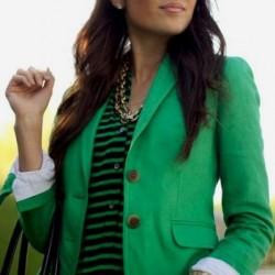 Yeşil Renkli Blazer Ceket Modelleri