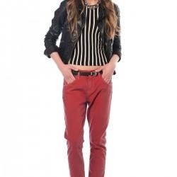 Açık Kırmızı Levi's Pantolon Modelleri