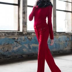 Kırmızı Pantolon adL Yeni Sezon Modelleri