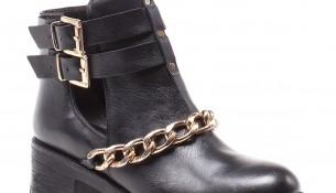 Zincirli Bot Elle Ayakkabı Modelleri