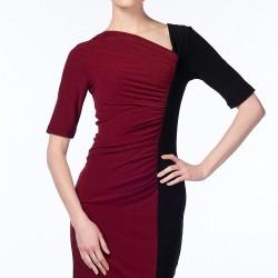 Çift Renk Elbise N-Value Yeni Sezon Modelleri
