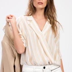 Çizgili Park Bravo 2015 Bluz Modelleri